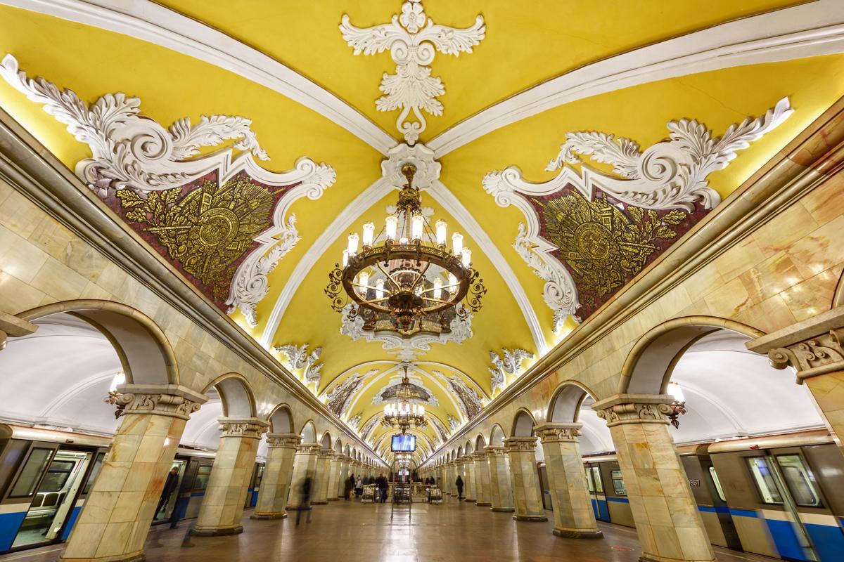 Metro de Moscú, Rusia