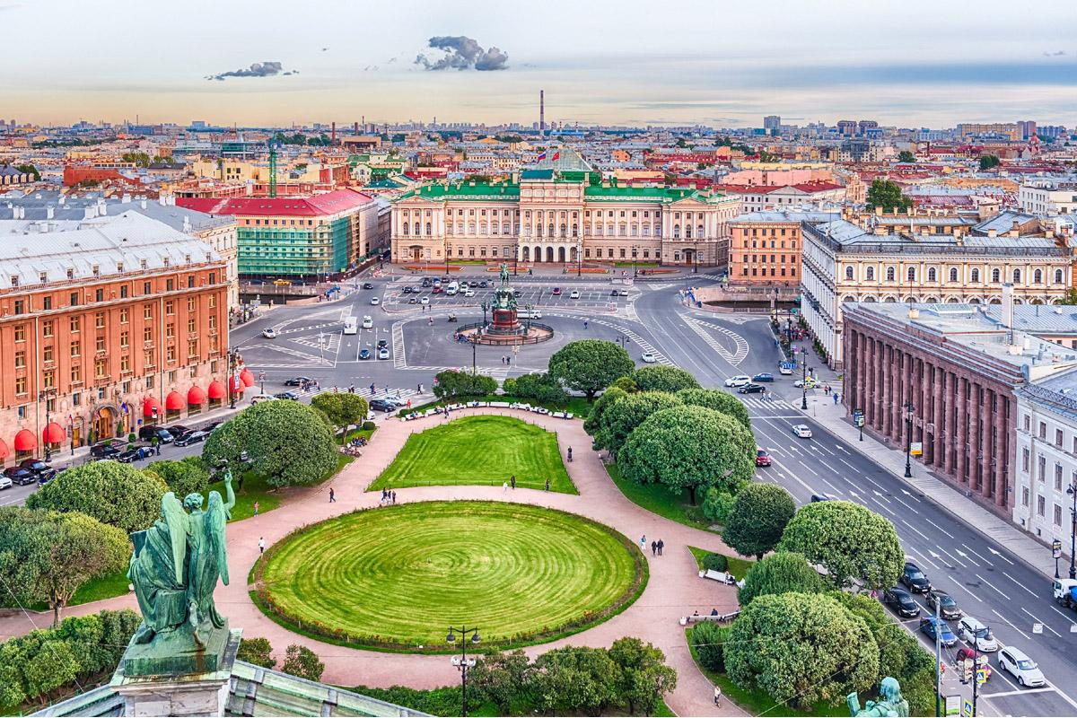 Centro histórico, San Petersburgo, Rusia
