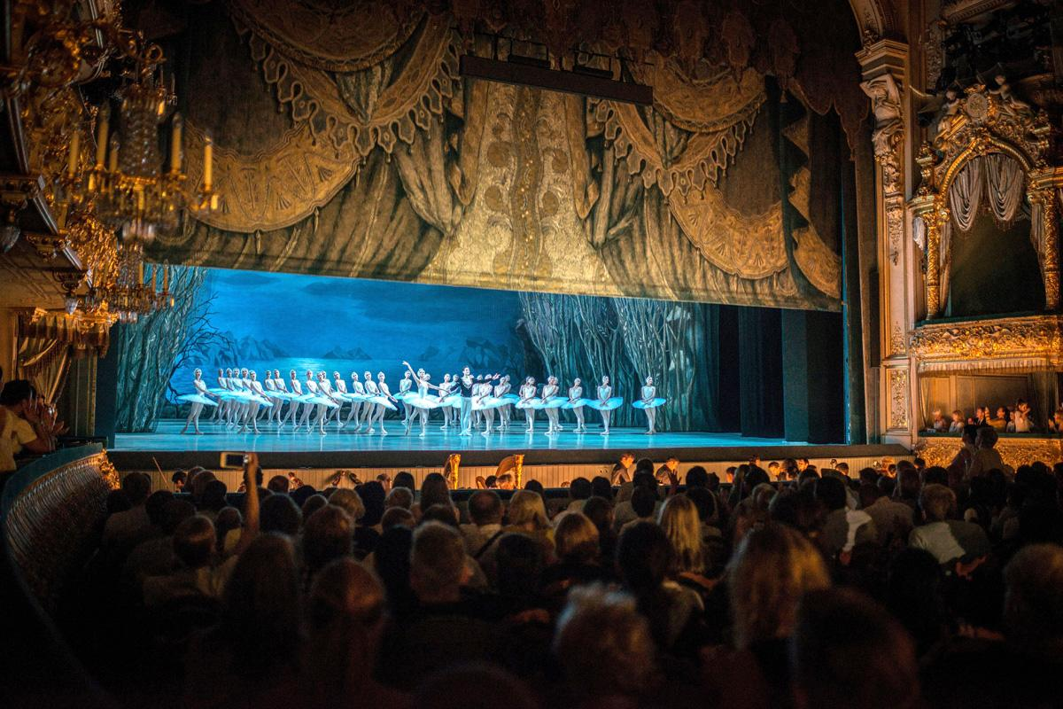 Teatro Mariinsky, San Petersburgo, Rusia
