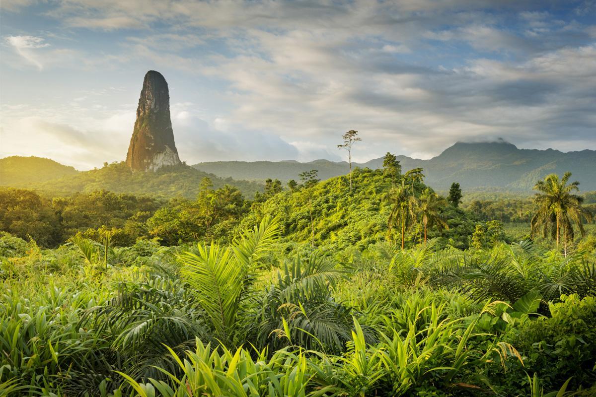 Pico Cão Grande, Santo Tomé, Santo Tomé y Príncipe