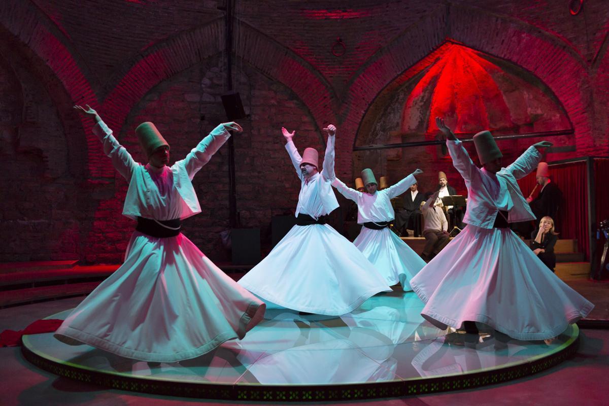Baile de derviches, Estambul, Turquía