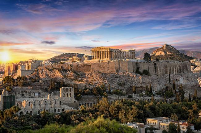 Acrópolis, Atenas. Grecia
