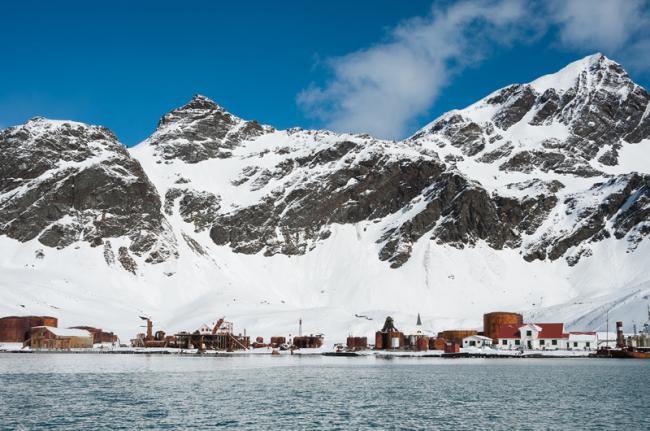 Cementerio de balleneros de Grytviken, Georgia del Sur, Antártida