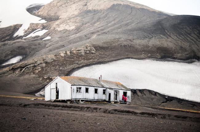 Isla Decepción, Antártida