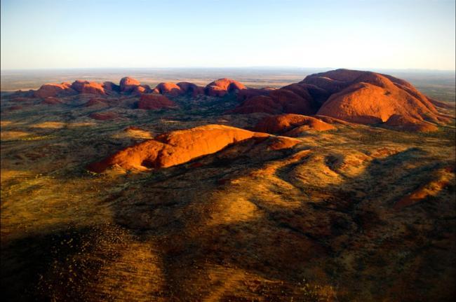 Monte Olga, Parque Nacional Uluru-Kata Tjuta, Australia