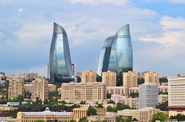 La cosmopolita Bakú, Azerbaiyán