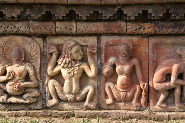 Ruinas del monasterio de Paharpur, Bangladés