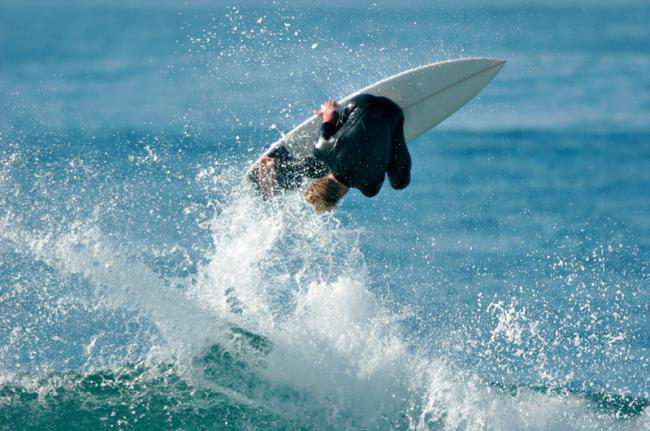'Surf' en el Soup Bowl, Barbados