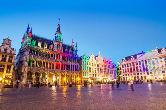 Grand Place, Bruselas, Bélgica