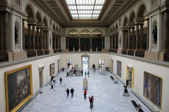 Musées Royaux des Beaux-Arts, Bruselas, Bélgica