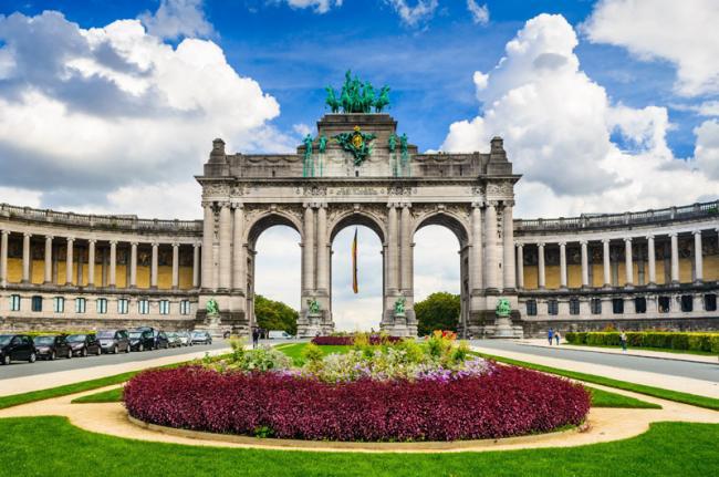 Parc du Cinquantenaire, Bruselas, Bélgica