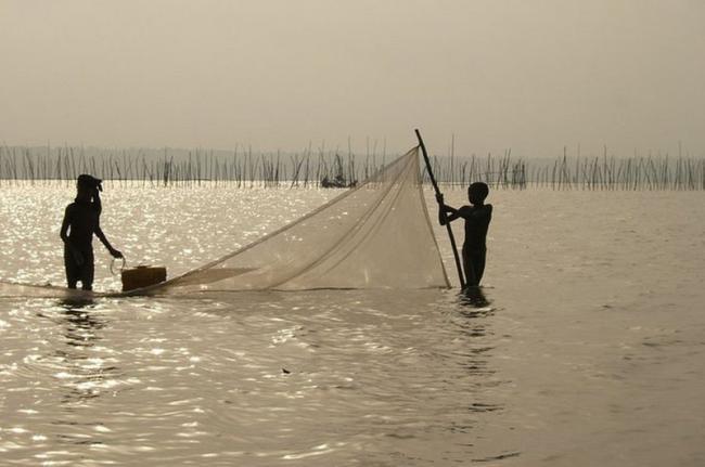 Lago Ahémé, Benín
