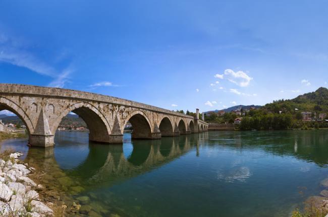 Puente de Mehmet Paša Sokolović, Visegrado, Bosnia y Herzegovina