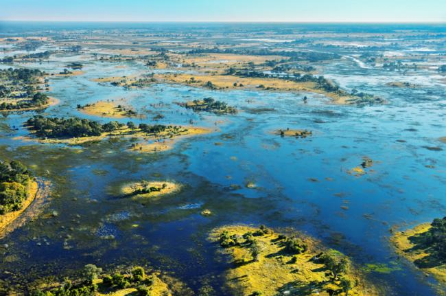 Delta del Okavango, Botsuana