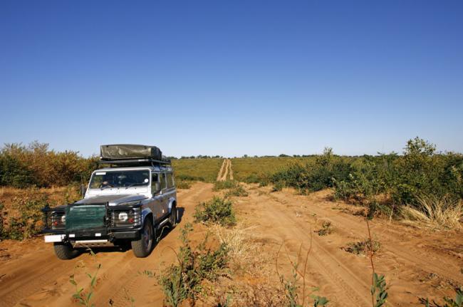 Conducir campo a través, Botsuana
