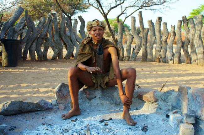 El pueblo san, Botsuana