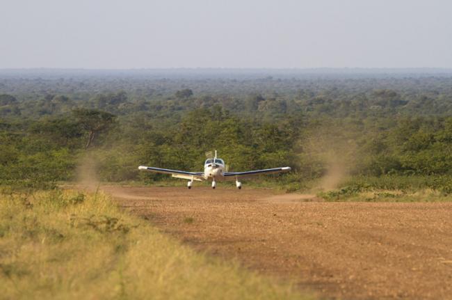 Safaris aéreos, Botsuana