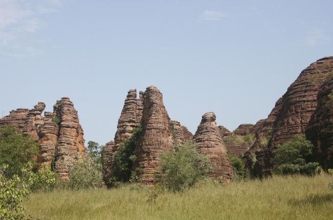 Picos de Sindou, Burkina Faso