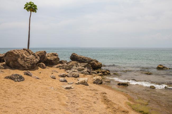 Playa de Saga, lago Tanganica, Burundi