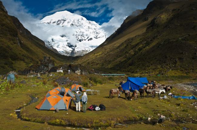 Campamento base del Everest, Jhomolhari, Bután