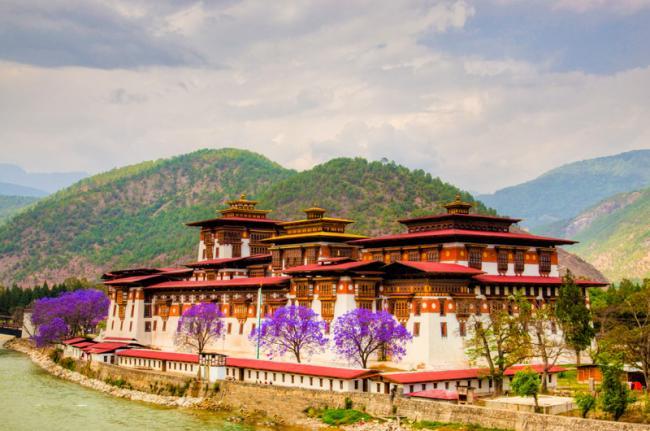 'Dzong' de Punakha, Bután