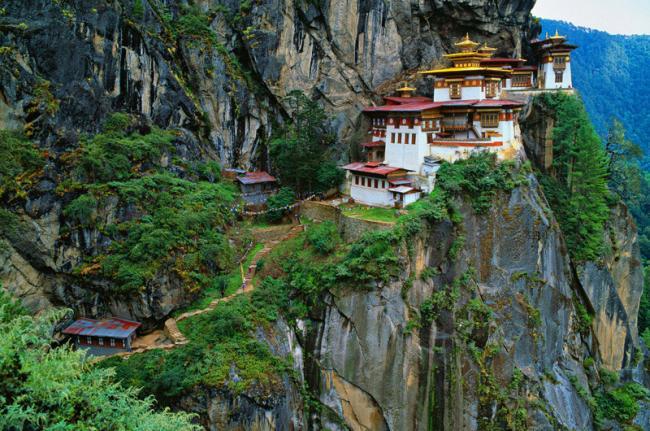 Monasterio del Nido del Tigre, Taktshang Goemba, Bután