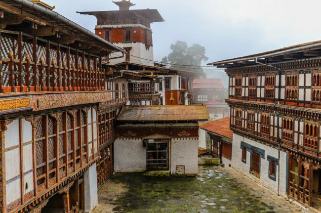 'Dzong' de Trongsa, Bután