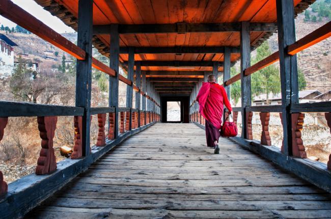 Ruta del sendero de Druk, Paro, Bután
