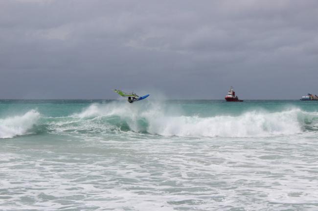 'windsur' en playa de Sal, Cabo Verde