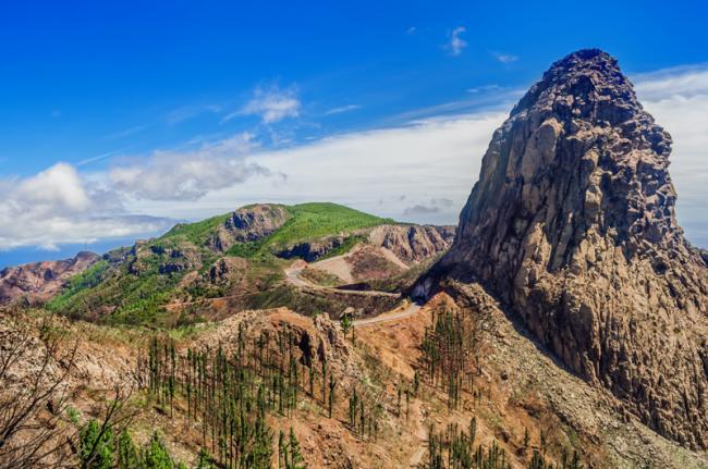 Alto de Garajonay, La Gomera, Canarias, España