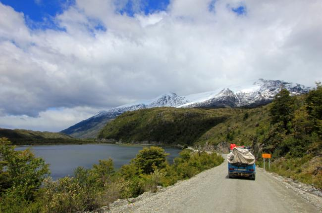 Viaje por la carretera Austral, Chile