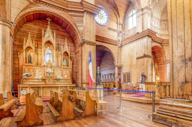Iglesia de San Francisco, Castro, Chiloé, Chile