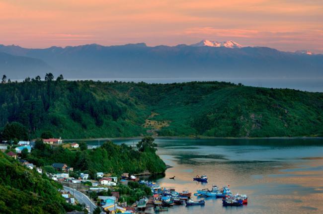 La Región de Los Lagos, Chile