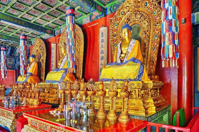 Templo de los Lamas, Beijing, China