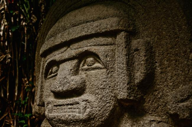 Antiguas estatuas de San Agustín, Colombia
