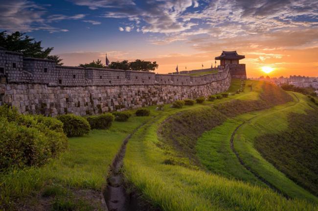 Fortaleza de Hwaseong, Suwon, Corea del Sur
