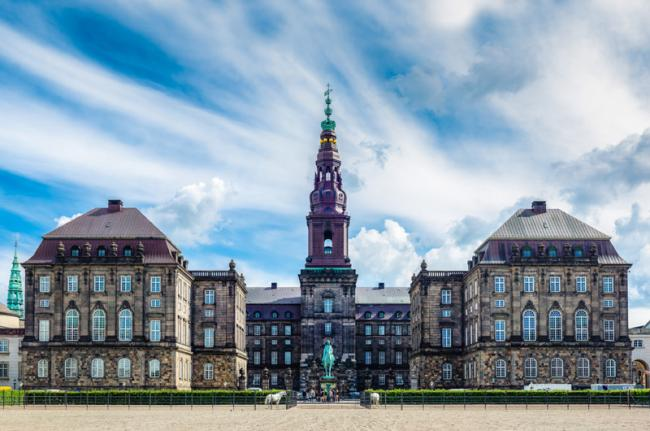 Christiansborg Slot, Copenhague, Dinamarca