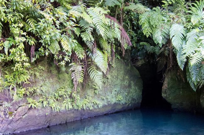 Titou Gorge, Parque Nacional Morne Trois Pitons, Dominica