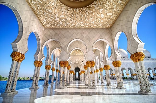 Mezquita del Jeque Zayed Grand, Abu Dhabi, Emiratos Árabes Unidos