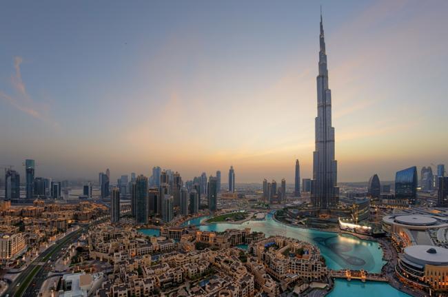 Burj Khalifa, Dubái, Emiratos Árabes Unidos