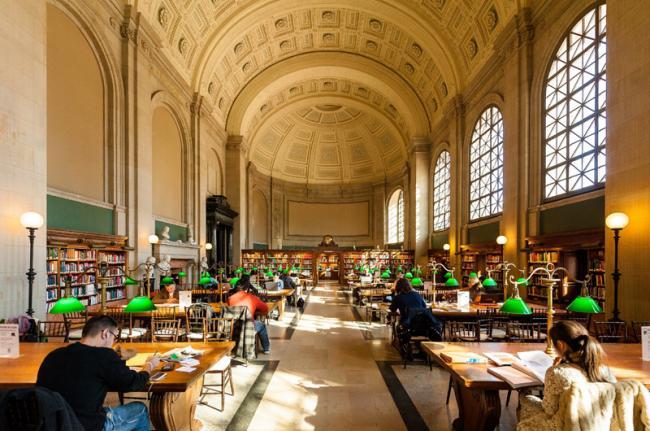 Biblioteca Pública de Boston, Boston, Estados Unidos