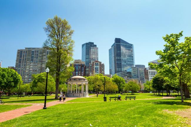 Boston Common, Boston, Estados Unidos