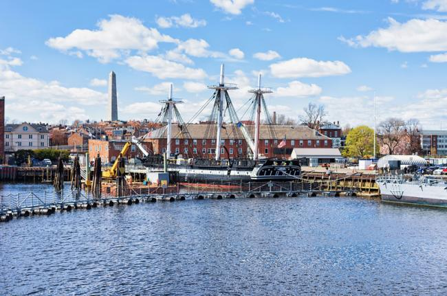 Charlestown Navy Yard, Boston, Estados Unidos
