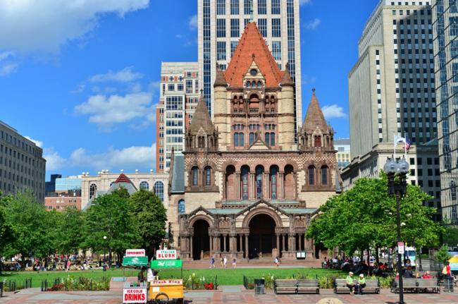 Trinity Church, Boston, Estados Unidos