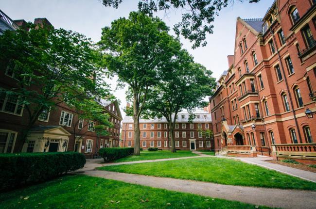 Harvard Yard, Universidad de Harvard, Boston, Estados Unidos