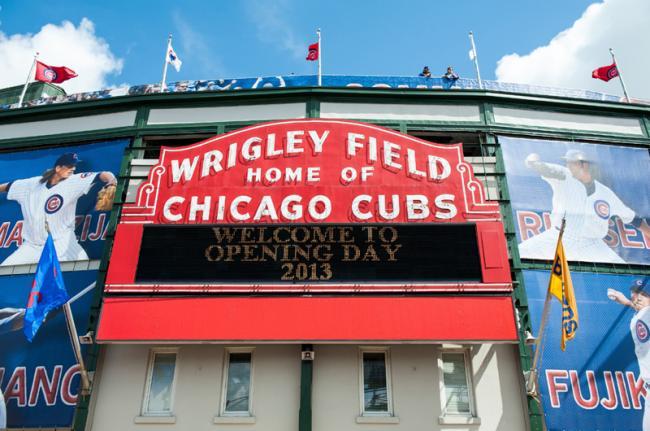 Wrigley Field, Chicago, Estados Unidos