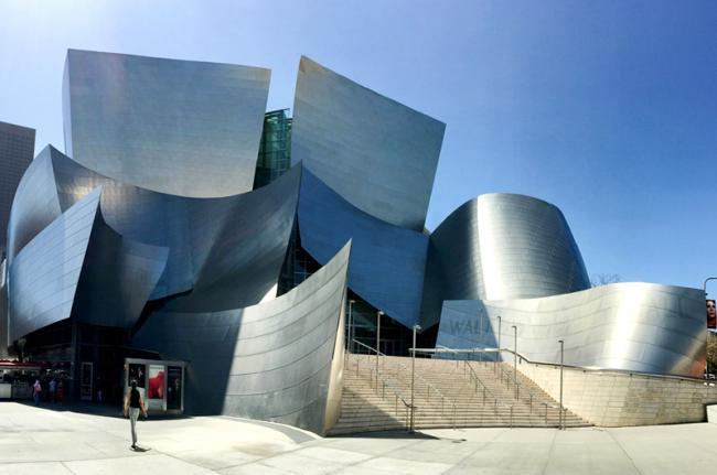Walt Disney Concert Hall, Los Ángeles, Estados Unidos