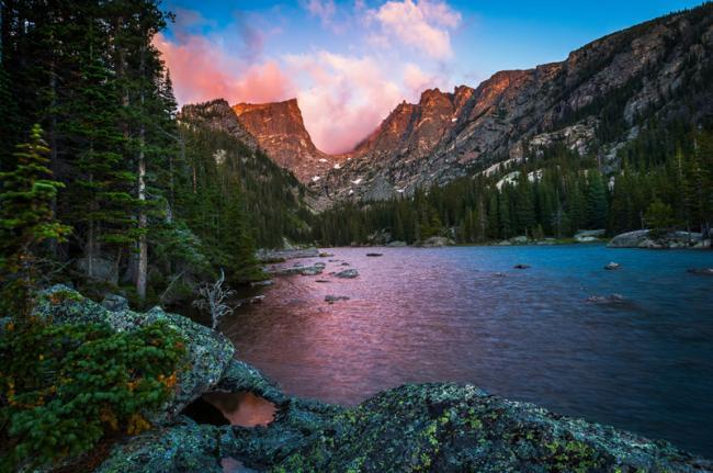 Montañas Rocosas, Estados Unidos