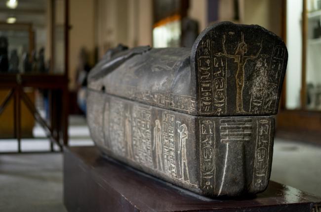 Sarcófago de Ramsés, Museo Egipcio, El Cairo, Egipto
