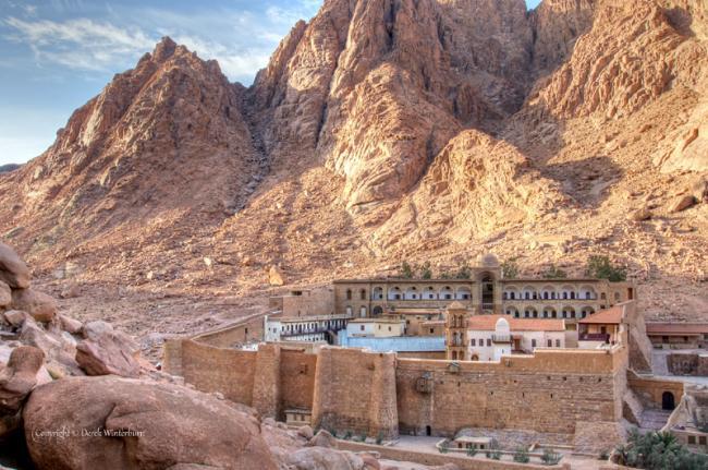 Monasterio de Santa Caterina, monte Sinaí, Egipto